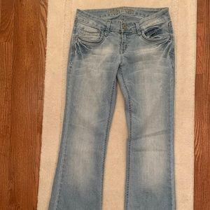 wallflower low rise jeans